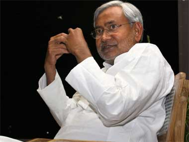 File image of Nitish Kumar. Reuters