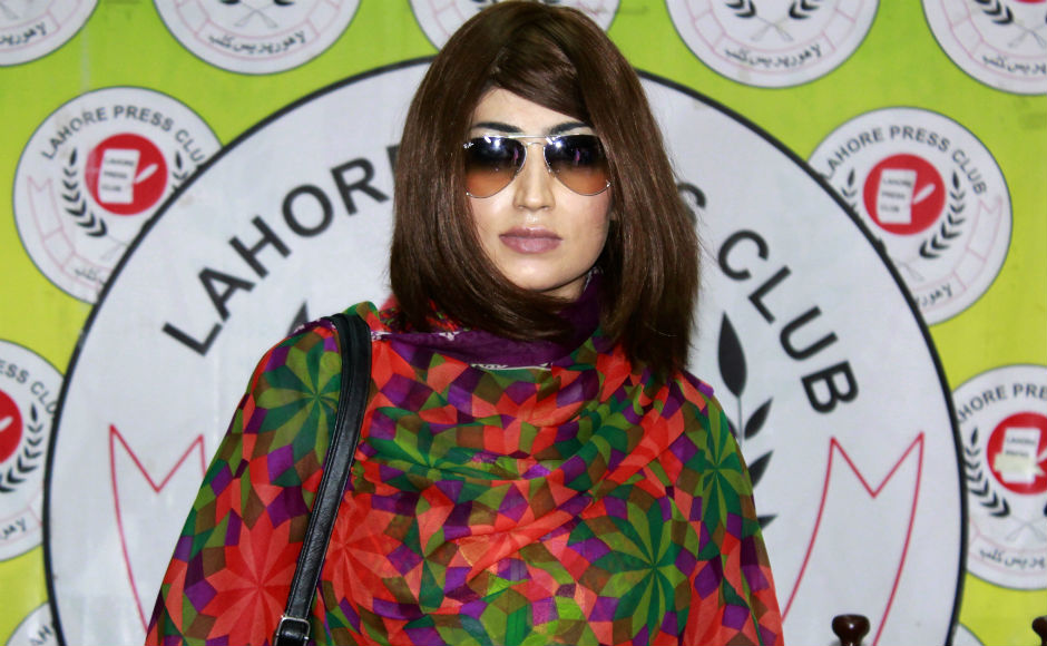 Pakistani model Qandeel Baloch was murdered by her brother on Saturday, 16 July. He shot her in what is suspected to be an 'honour' killing. Photo: AP