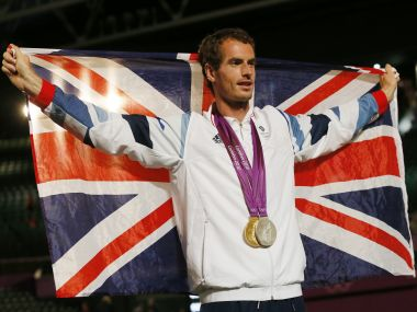 Image result for novak and murray olympics 2012