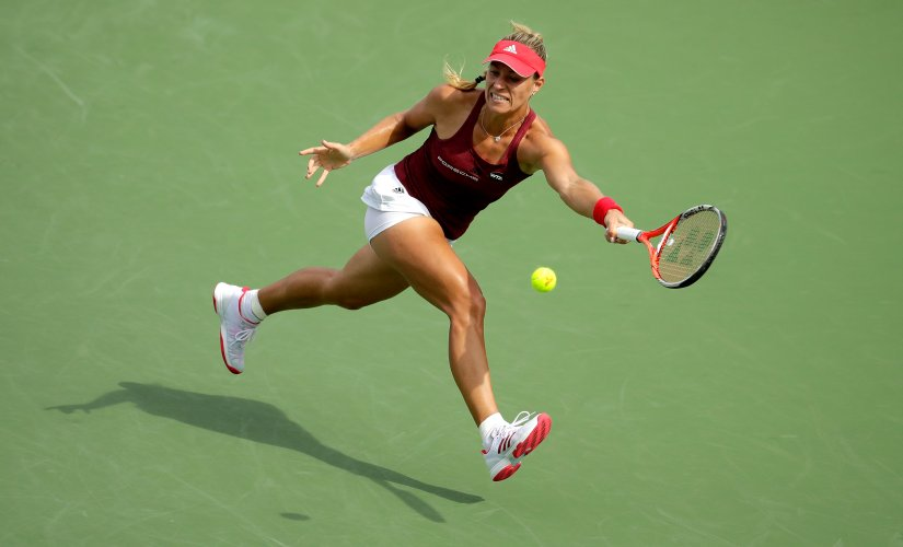 Angelique Kerber has a chance to upstage Serena Williams as the World No 1 at the US Open. Getty