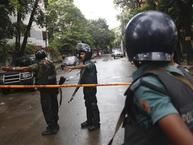 Representational image of Dhaka cafe attack. AP