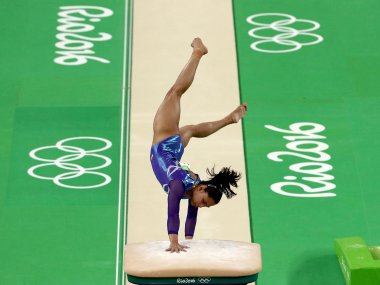Dipa Karmakar put up an impressive show and finished 4th in the women's vault finals. Getty