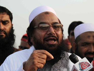 File photo of Hafiz Saeed. AFP