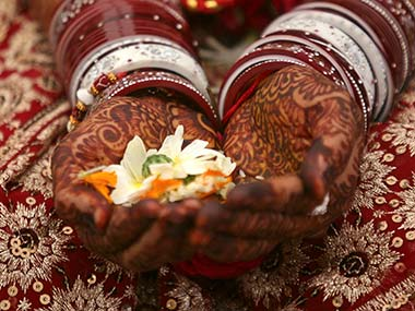 Representational image of a Hindu marriage ceremony. Reuters