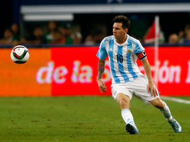 File picture of Lionel Messi. Getty