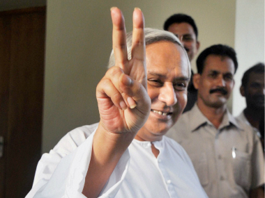 File photo of Odisha CM Naveen Patnaik. PTI