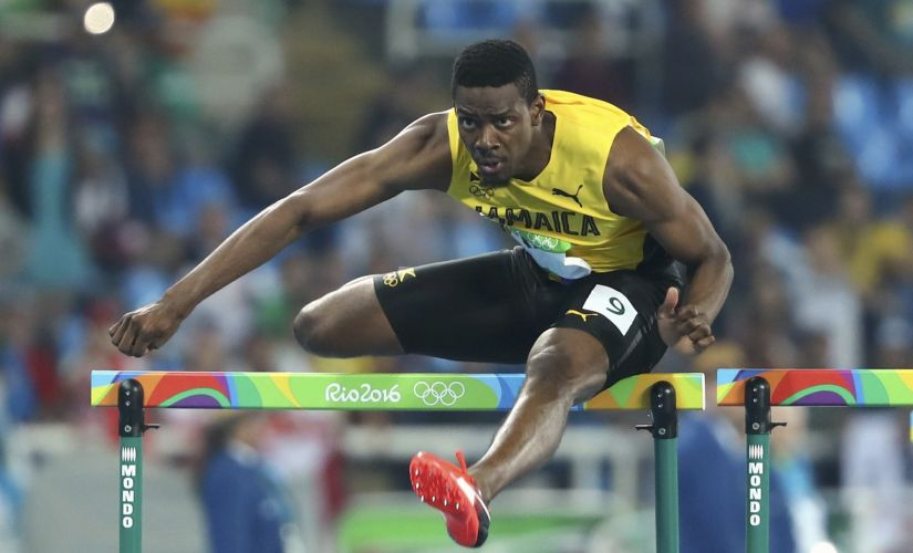 Deuce Carter of Jamaica. Reuters