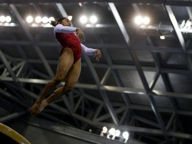 File photo of Dipa Karmakar. Reuters