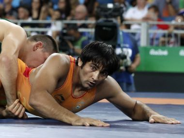 Ravinder Khatri lost 9-0 to Hungary's Viktor Lorincz in the Round of 16. AFP