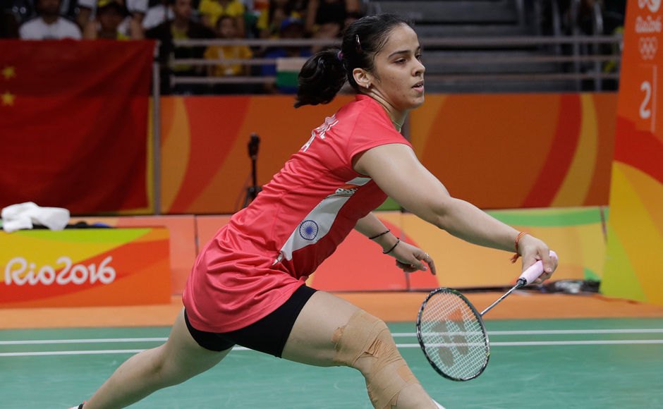 One of India's biggest medal hopes Saina Nehwal suffered a shock defeat and bowed out of Rio Olympics. After the match, Saina revealed that she played with pain in her knee. AP