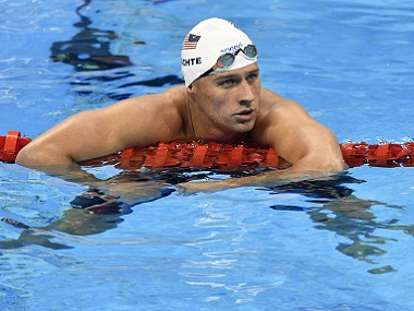 File photo of Ryan Lochte. AP