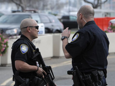 File image of US police. AFP