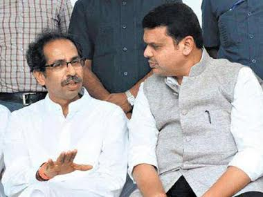File photo of Devendra Fadnavis and Uddhav Thackrey. PTI