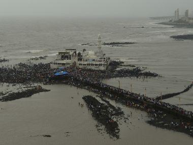Haji Ali dargah in Mumbai. Reuters