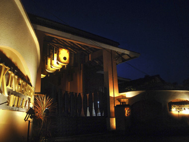 The exterior view of Kingfisher Villa, Goa. Reuters