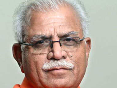 File photo of Chief Minister Manohar Lal Khattar. Facebook