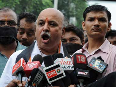 File image of Pravin Togadia. AFP
