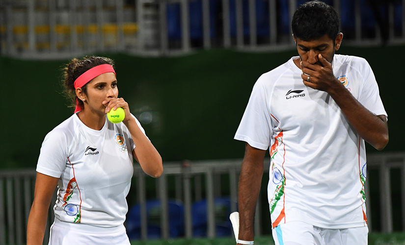 Sania Mirza and Rohan Bopanna were one victory away from a medal but were unable to register that win.