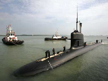 Second Scorpene class submarine to be launched on January 12