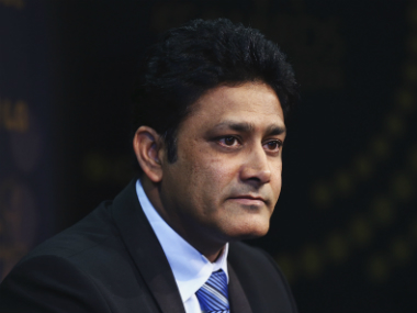 File photo of India head coach Anil Kumble. Getty Images