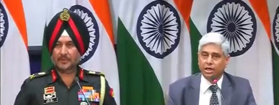 Indian Army conducted surgical strikes against terrorists at launch pads along LoC