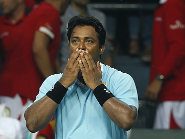 File picture of Leander Paes. AP