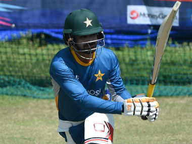 Mohammad Hafeez was had been going through a lean patch of form in the tour of England. AFP