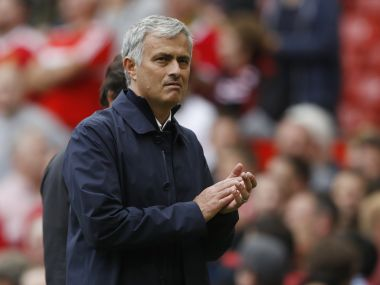 Manchester United manager Jose Mourinho. Reuters