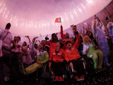 Rio Paralympics 2016 closing ceremony. Reuters