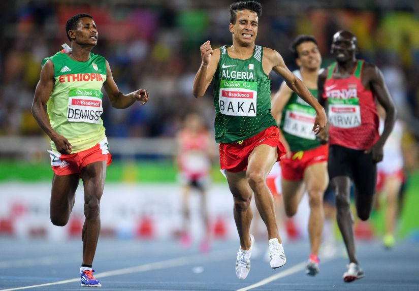 The first four runners in 1500m actually ran faster than the Rio gold medal winner Matthew Centrowitz. AP