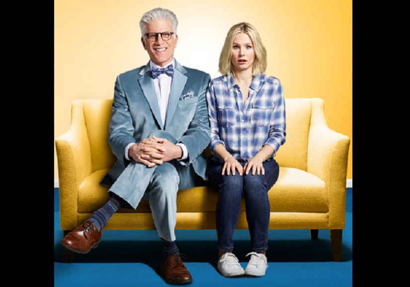 Ted Danson and in 'The Good Place'