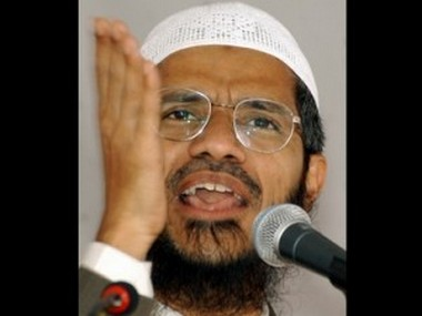 File photo of Zakir Naik. Reuters