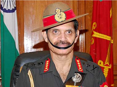 File image of Army chief Dalbir Singh. PTI