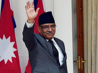 Nepal Prime Minister Pushpa Kamal Dahal. File photo. PTI