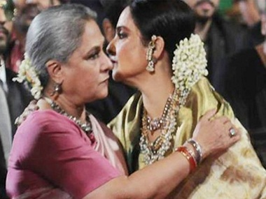 Usman ends his book on a somewhat odd note — the cordial meeting between Rekha and Jaya Bachchan at the Star Screen Awards in January 216