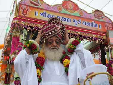 File image of Asaram Bapu. AFP