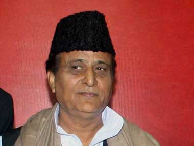 File photo of Azam Khan. PTI