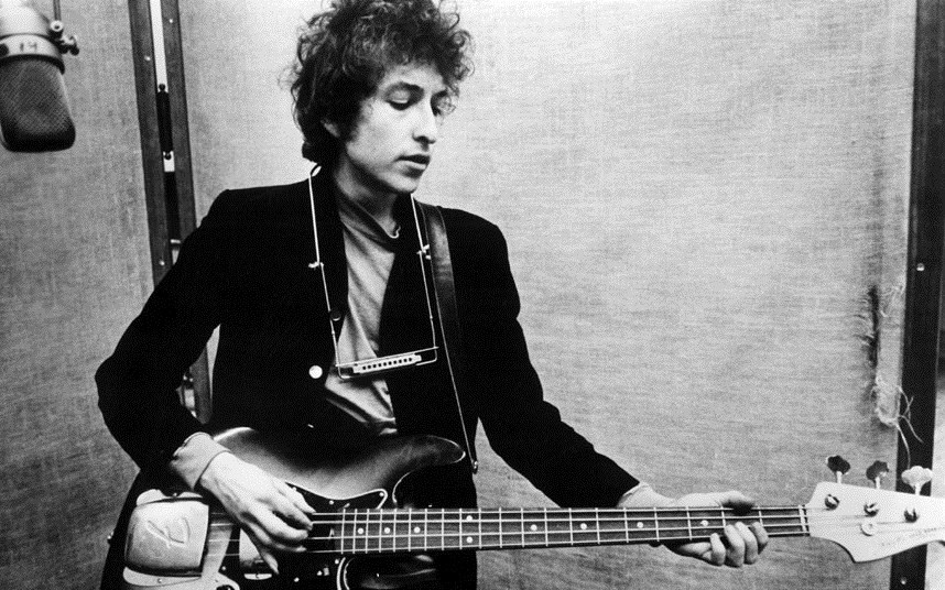 Bob Dylan. Wikimedia Commons
