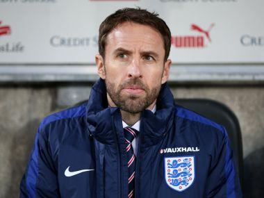 File photo of Gareth Southgate. Getty Images.