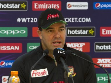 File photo of Zimbabwe's Heath Streak. AFP