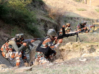 Security challenge in Kashmir. Reuters