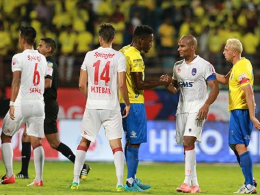 Delhi Dynamos and Kerala Blasters played out a hard-fought draw. ISL