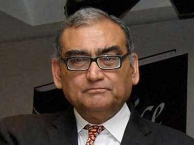 A file photo of Markandey Katju. PTI