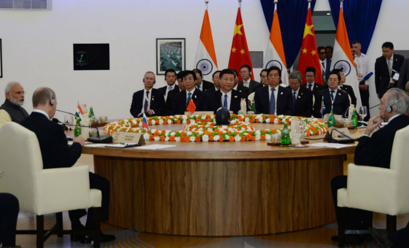 Prime Minister Narendra Modi addressing the Planery Session. (Photo: MEAIndia)