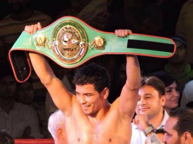 Indian welterweight boxer Neeraj Goyat. Facebook