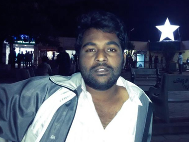File image of Rohith Vemula. Facebook