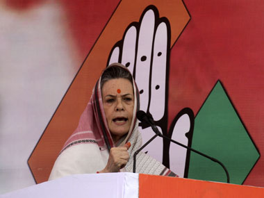 File image of Sonia Gandhi. PTI