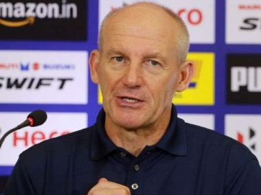 Kerala Blasters manager Steve Coppell. ISL
