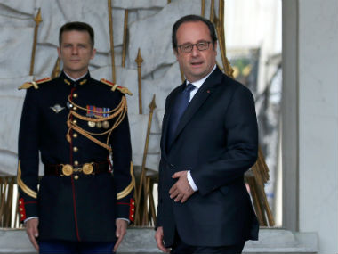 File image of President Francois Hollande. Reuters