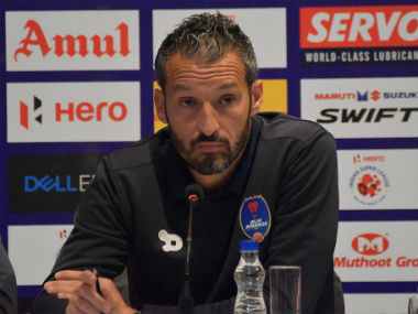 Zambrotta stressed on grooming Indian players by giving them the best coaching. Image courtesy: Twitter/@DelhiDynamos